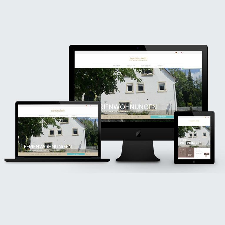 Webprojekt Ferienwohnung